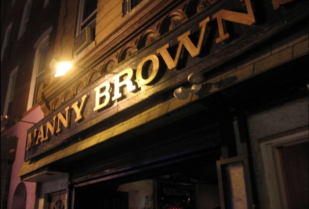 Manny Brown's – Philadelphia (permanently closed)